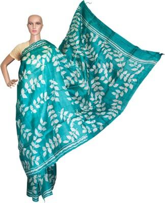 Prateeti Printed Hand Batik Handloom Pure Silk Sari