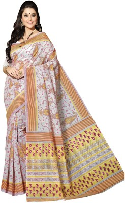 Abida Printed Fashion Cotton Sari
