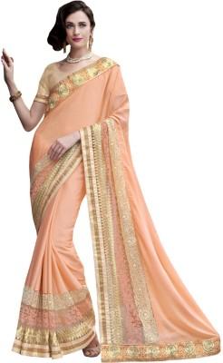 Resham Fabrics Embriodered Fashion Chiffon Sari