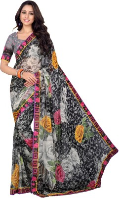 Twinkal Floral Print Daily Wear Georgette Sari