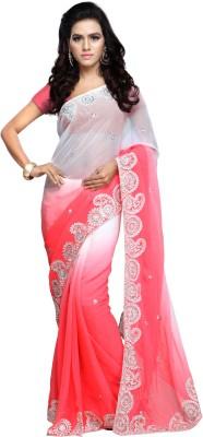 Aruna Sarees Embriodered Bollywood Chiffon Sari
