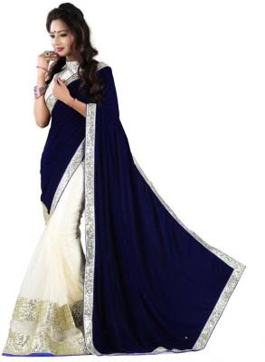 Deepak Sari Applique Fashion Georgette Sari