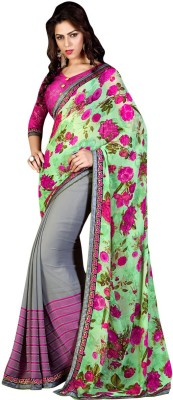 Shaily Embriodered Fashion Jacquard Sari