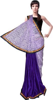 Serwans Plain Daily Wear Crepe Sari