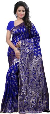 Arya Fashion Self Design Bollywood Cotton Sari