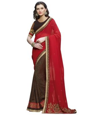 Riva Embriodered Fashion Georgette Sari