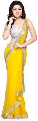 Bharatpuri Embriodered Fashion Net Sari