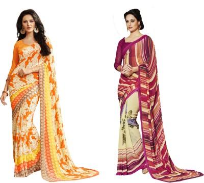 Saree Exotica Printed Fashion Georgette Sari