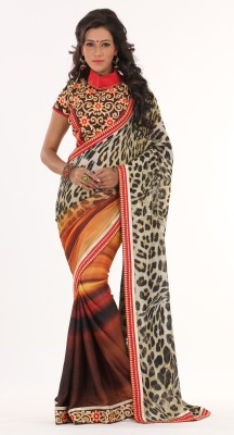 Moh Manthan Self Design Fashion Art Silk Sari