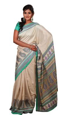 Uniformsareesindia Printed Fashion Chiffon Sari