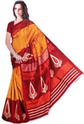 Arohee Printed Fashion Cotton, Silk Sari