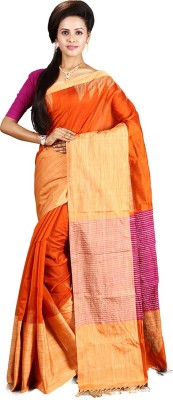 Ritoja Self Design Phulia Handloom Silk Sari