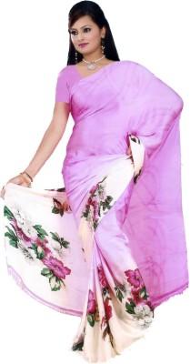 La Belleza Boutique Floral Print, Graphic Print, Printed Fashion Silk Sari