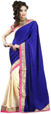 Vishal99 Embriodered Bollywood Chiffon Sari