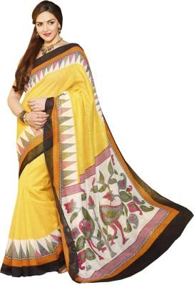 Abida Graphic Print Daily Wear Art Silk Sari