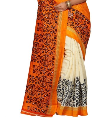 PS Enterprise Printed Daily Wear Handloom Cotton Sari