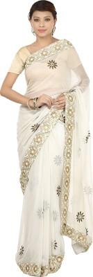 Gopalka Prints Embellished Fashion Handloom Georgette Sari