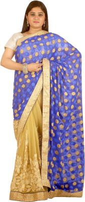 Vogue4all Embriodered Fashion Georgette Sari