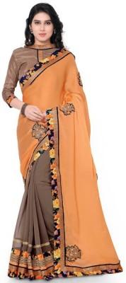 Ustaad Printed Fashion Georgette Sari