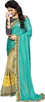 Aarushi Fashion Embriodered Chanderi Georgette Sari