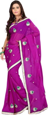 Deal Fashion Self Design Fashion Georgette Sari