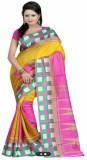 Textilebaba Floral Print Bollywood Art S...