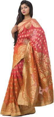 Ghatkopar Cloth Stores (P) Ltd Embriodered Fashion Viscose Sari