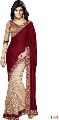 Radhe Fashion Embriodered Bollywood Georgette Sari
