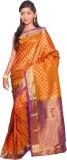 JCN Self Design Mysore Art Silk Saree (O...