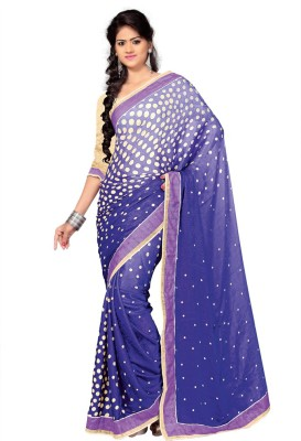 shart Printed Fashion Satin Sari