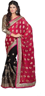 Stylezone Embriodered Fashion Viscose Sari