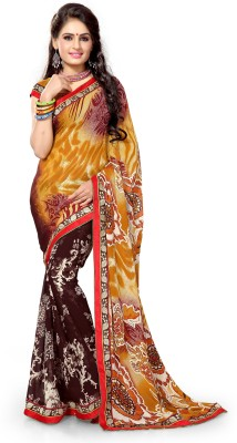 leepsprints Printed Fashion Georgette Sari