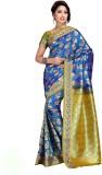 Aayori Woven Kanjivaram Art Silk Saree (...