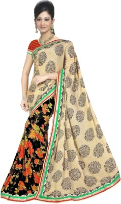 Aditya Fashion Embriodered Bollywood Cambric Sari