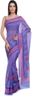 NIKA Printed Chanderi Chanderi Sari