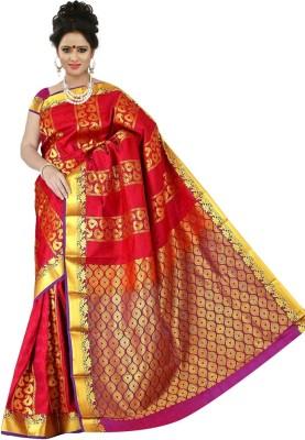 BrindavanSilks Embellished Fashion Silk Sari