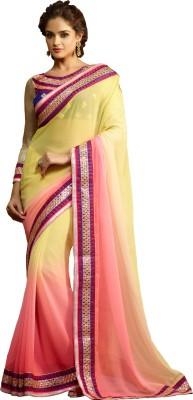 Renuja Embriodered Fashion Chiffon Sari