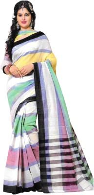 Kaveri Striped Fashion Cotton Sari