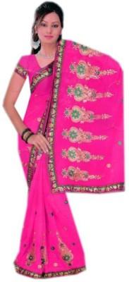 Shree Sanskruti Paisley Fashion Chiffon Sari