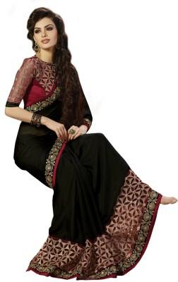 mastani Embriodered Sambalpuri Chiffon Sari