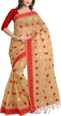Awesome Self Design Bhagalpuri Tissue Sari