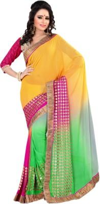 Suchi Fashion Embriodered Fashion Jute Sari