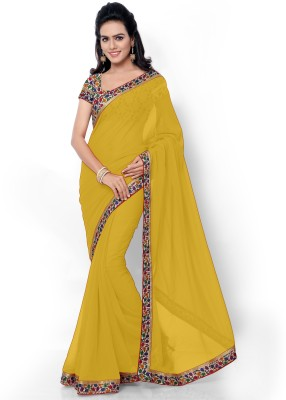 Florence Embriodered Fashion Georgette Sari