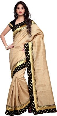 Shree Parmeshwari Solid Bollywood Banarasi Silk Sari