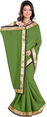 Mahadevi Plain Daily Wear Chiffon Sari