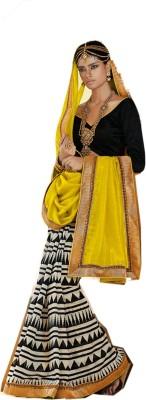 Candiz Embriodered Bhagalpuri Silk Cotton Blend Sari