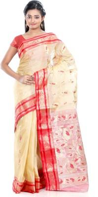 B3Fashion Solid Kosa Silk Sari
