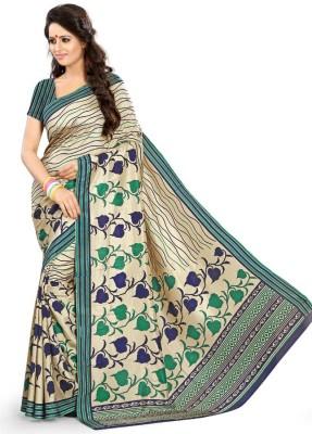 Sarovar Sarees Self Design, Geometric Print, Floral Print, Plain, Striped, Printed Mysore Art Silk Sari