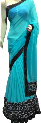 Lakmeart Printed Daily Wear Georgette Sari