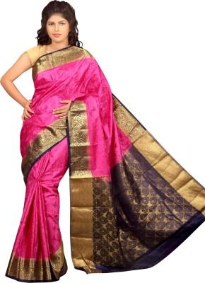 Aruna Fashions Woven Kanjivaram Art Silk Sari